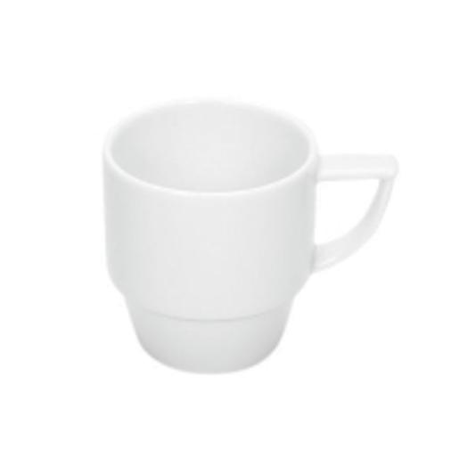 Tafelstern 6.1 oz. Porcelain Cup, Stackable - White