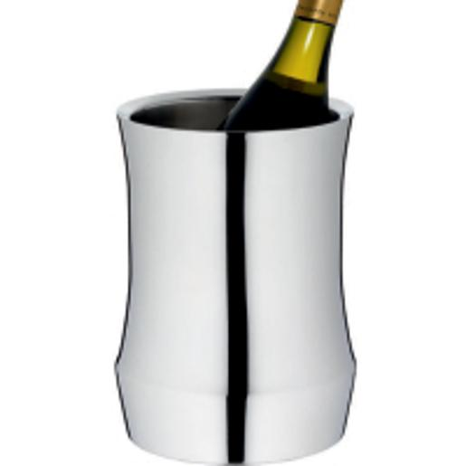 Stainless Steel Wine/Champagne Cooler, 6 1/4